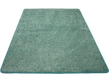 Andiamo Teppich Shaggy uni, rechteckig, 15 mm Höhe, Wohnzimmer B/L: 300 cm x 400 cm, 1 St. blau Esszimmerteppiche Teppiche nach Räumen