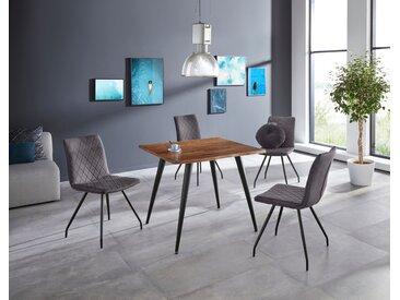 HELA Baumkantentisch Jule III Tiefe 2,6 cm braun Esstische Tische SOFORT LIEFERBARE Möbel Tisch