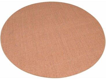 Living Line Sisalteppich Trumpf, rund, 6 mm Höhe, Obermaterial: 100% Sisal, Wohnzimmer 44 (Ø 300 cm), beige Schlafzimmerteppiche Teppiche nach Räumen