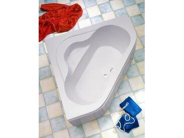 OTTOFOND Eckwanne Lucia, mit Fußgestell und Ablaufgarnitur Einheitsgröße weiß Badewannen Whirlpools Bad Sanitär