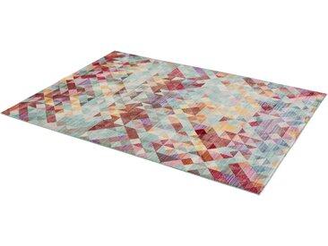SCHÖNER WOHNEN-Kollektion Teppich Shining 1, rechteckig, 5 mm Höhe, Besonders weich durch Microfaser, Wohnzimmer B/L: 170 cm x 240 cm, 1 St. bunt Esszimmerteppiche Teppiche nach Räumen