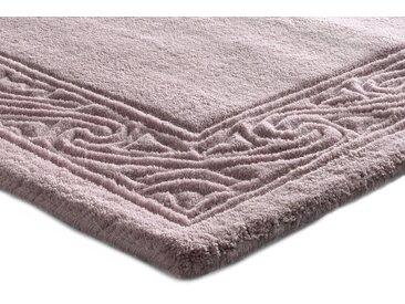 Hochflorteppich uni Farben 6, ca. 200/200 cm lila Teppichläufer Läufer Bettumrandungen Teppiche