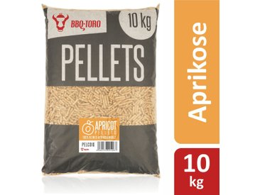 BBQ-Toro 10 kg Apricot Pellets aus 100% Aprikosenholz Aprikosenpellets