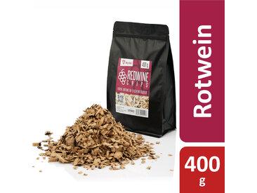 BBQ-Toro Redwine Smoker Chips  400 g  aus 100% Rotwein-Eichenfässer