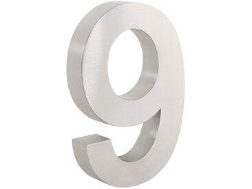 "ZELSIUS Edelstahl Hausnummer ""9"""