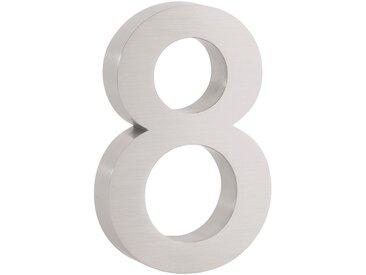 "ZELSIUS Edelstahl Hausnummer ""8"""