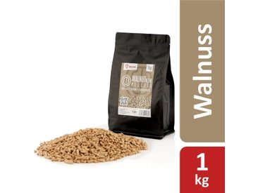 BBQ-Toro 1 kg Walnut Blend Pellets aus 100% Holz  Walnusspellets