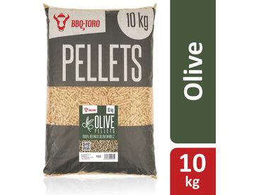 BBQ-Toro 10 kg Olive Pellets aus 100% Olivenbaumholz  Olivenpellets