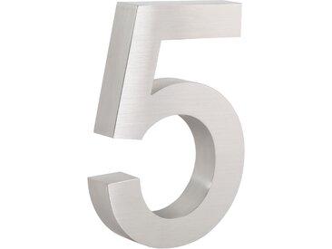 "ZELSIUS Edelstahl Hausnummer ""5"""