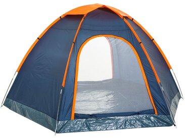 """CampFeuer Kuppelzelt für 4 Personen """"HexOne""""  für Camping, Outdoor"""