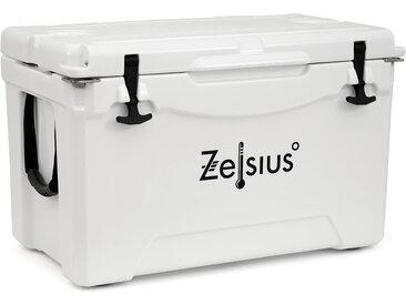 Zelsius Kühlbox weiß 50 Liter  Cooling Box ideal für Auto Camping