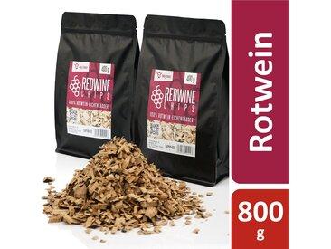 BBQ-Toro Redwine Smoker Chips  800 g  aus 100% Rotwein-Eichenfässer
