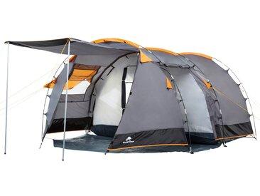 """CampFeuer Tunnelzelt /""""Smart/"""" Zelt für 4 PersonenFamilienzeltCampingzelt"""