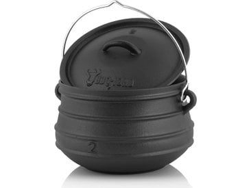 BBQ-Toro Potjie #2, für 4 - 8 Personen, 6 Liter, ohne Füße Kochtopf