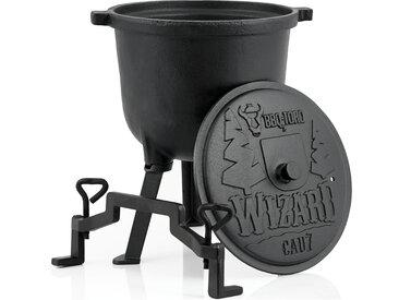 """BBQ-Toro Zauberkessel """"Wizard""""  7 Liter Gusseisen Kochtopf"""