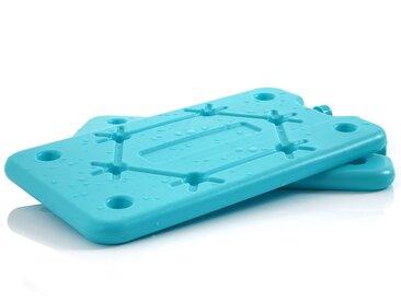 CampFeuer 2er Set Kühlakkus  blau  Kühlelement für Kühltasche