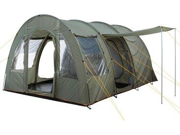 """CampFeuer Tunnelzelt """"TunnelX""""  olivgrün  Familienzelt 5000 mm"""