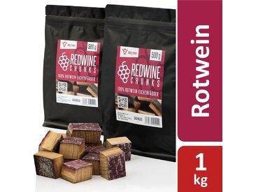 BBQ-Toro Redwine Chunks  1 kg  aus 100% Rotwein-Eichenfässer