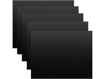 BBQ-TORO Premium Grillmatten Set (5 Stück), 40 x 33 cm, Dauerbackmatte