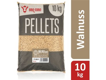 BBQ-Toro 10 kg Walnut Blend Pellets aus 100% Holz  Walnusspellets