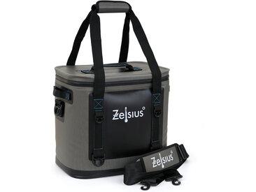 Zelsius Soft Kühltasche grau 20 Liter  leicht und wasserdicht