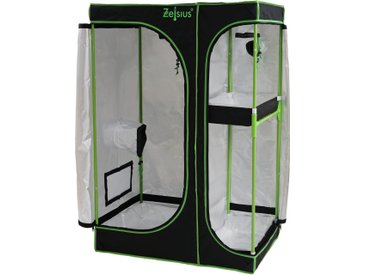 Zelsius Grow Tent 160 x 120 x 205 cm schwarz/grün Pflanzenzucht Indoor