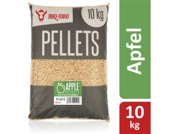 BBQ-Toro 10 kg Apple Pellets aus 100% Apfelbaumholz  Apfelpellets