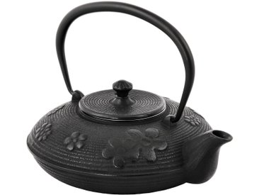 BBQ-Toro Asiatische Gusseisen Teekanne mit Edelstahlsieb  1,2 Liter