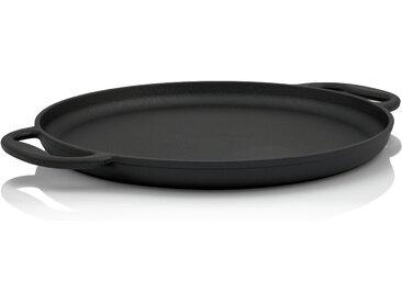 BBQ-Toro Gusseisen Grillpfanne Ø 35 cm - Servierpfanne, Grillplatte