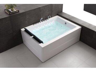 Whirlpool 180x131 Saale Badewanne Whirlwanne für 2 Personen Wasserfall SOFORT
