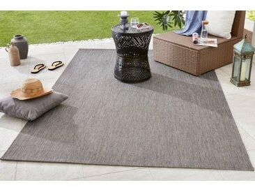 Outdoor Teppich PURE 230x160cm grau Modern Design wetterfest