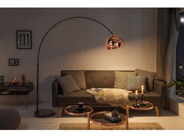 Ausziehbare Bogenlampe LOUNGE DEAL 170-210 cm roségold Stehlampe