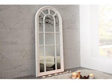 Vintage Wandspiegel CASTILLO 140x60cm creme Shabby Chic Standspiegel