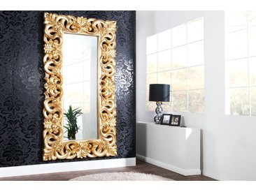 Eleganter Wandspiegel VENICE 180x90cm gold antik Barockstil
