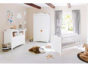 3-tlg. Babyzimmer Florentina extrabreit