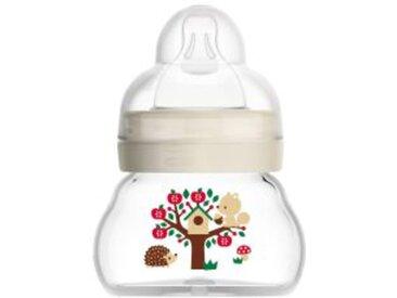 Babyflasche Feel Good, 90 ml, Glas, ab 0M beige