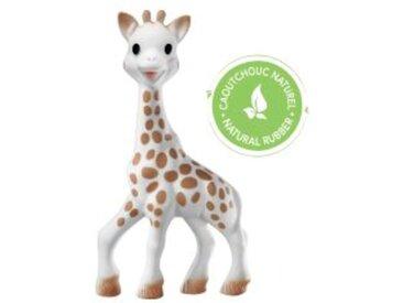 Beißring & Greifling Sophie la girafe aus Naturkautschuk + Stoffbeutel