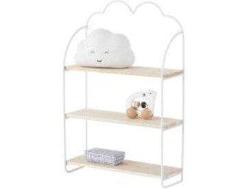 """Kinderzimmer Regal ,,Wolke"""" mit 3 Regalböden"""