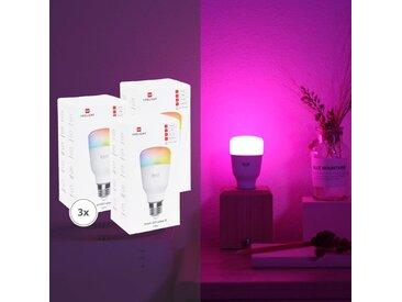 Yeelight | 3er Bundle Smart LED Lampe 1S (Color)