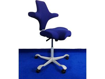 Sattelstuhl Bürostuhl HAG Capisco 8106 EXR 024 mondnacht blau silber Vor-Ort-Artikel