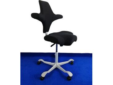 Sattelstuhl Bürostuhl HAG Capisco 8106 EXR 009 schwarz silber Vor-Ort-Artikel