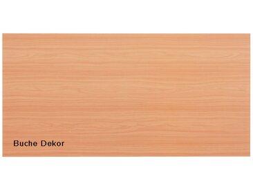 Tischplatte Hammerbacher K-Serie Rechteck 160 x 80 cm Buche Dekor