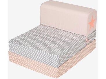 Kinder Sessel mit Schlaffunktion rosa