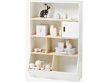 Regal für Kinderzimmer weiß/natur