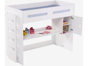 """Schreibtisch mit Regal """"Combibed"""" weiß"""
