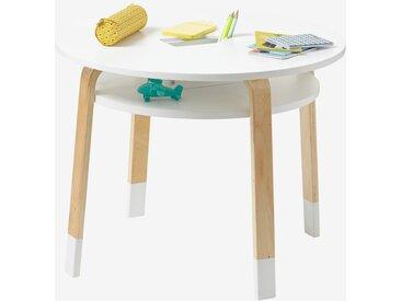 """Runder Spieltisch """"Color"""" weiß/natur"""