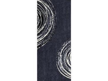 Esposa FUßMATTE 80/200 cm Graphik Weiß , 80 cm