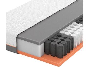 Schlaraffia GEL-TASCHENFEDERKERNMATRATZE Primus 250 TFK 100/200 cm , Weiß, H2=mittel bis ca.80kg, 100x200 cm
