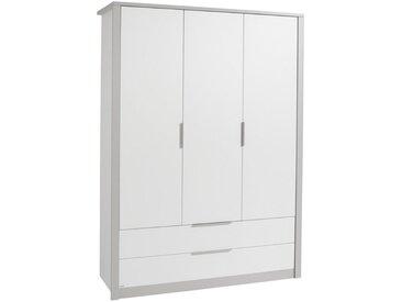 Paidi KLEIDERSCHRANK 3-türig Weiß , 3+1 Fächer, 148.5x202.8x56.2 cm