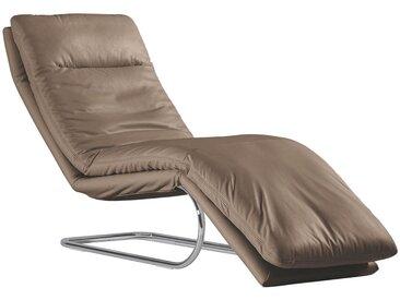 Chilliano LIEGE Echtleder Braun , Leder, 1-Sitzer, 65x101x158 cm